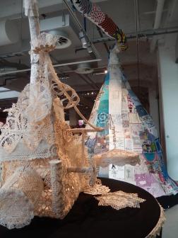 spetsfabriken och lappskulptur